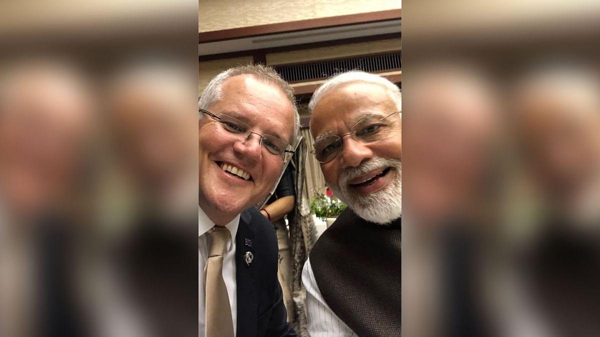 'Kithana Acha He Modi': Australian PM Morrison Tweets Pic From G20