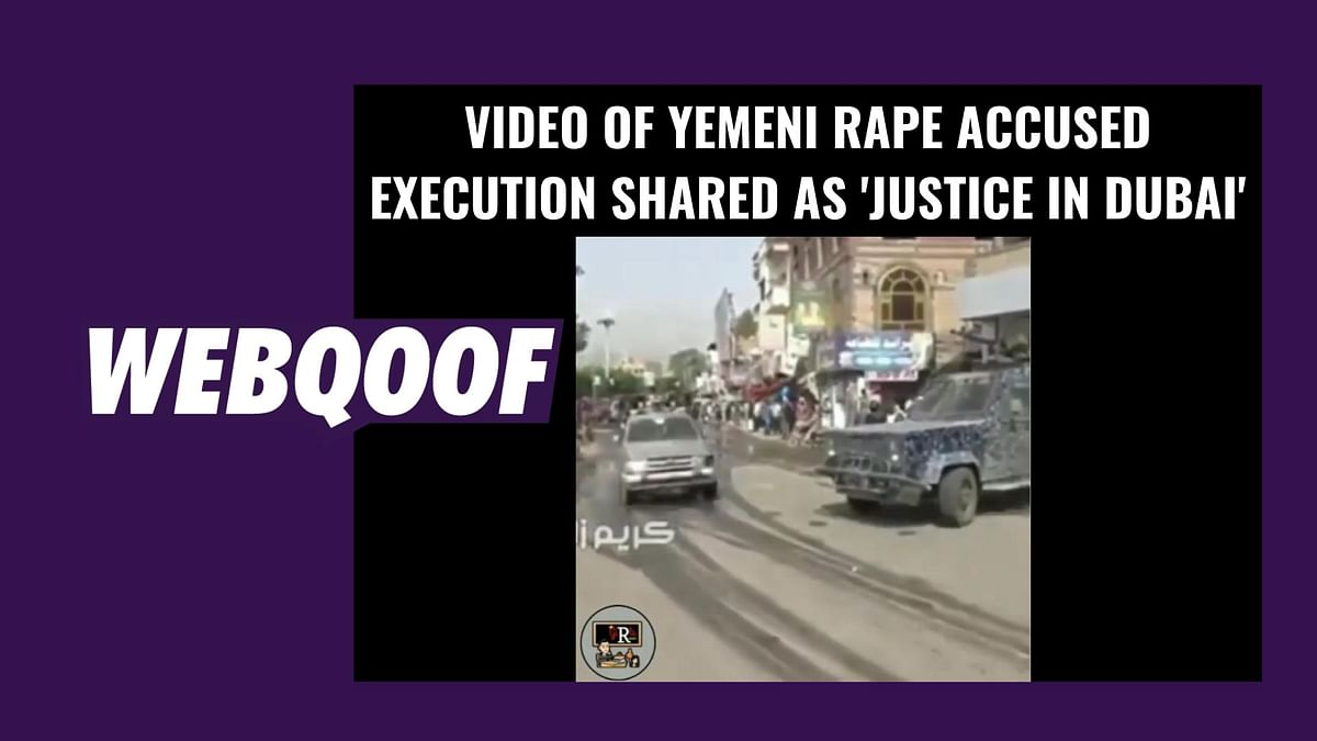 Yemeni Rape Convict Execution Video Shared as 'Justice in Dubai'
