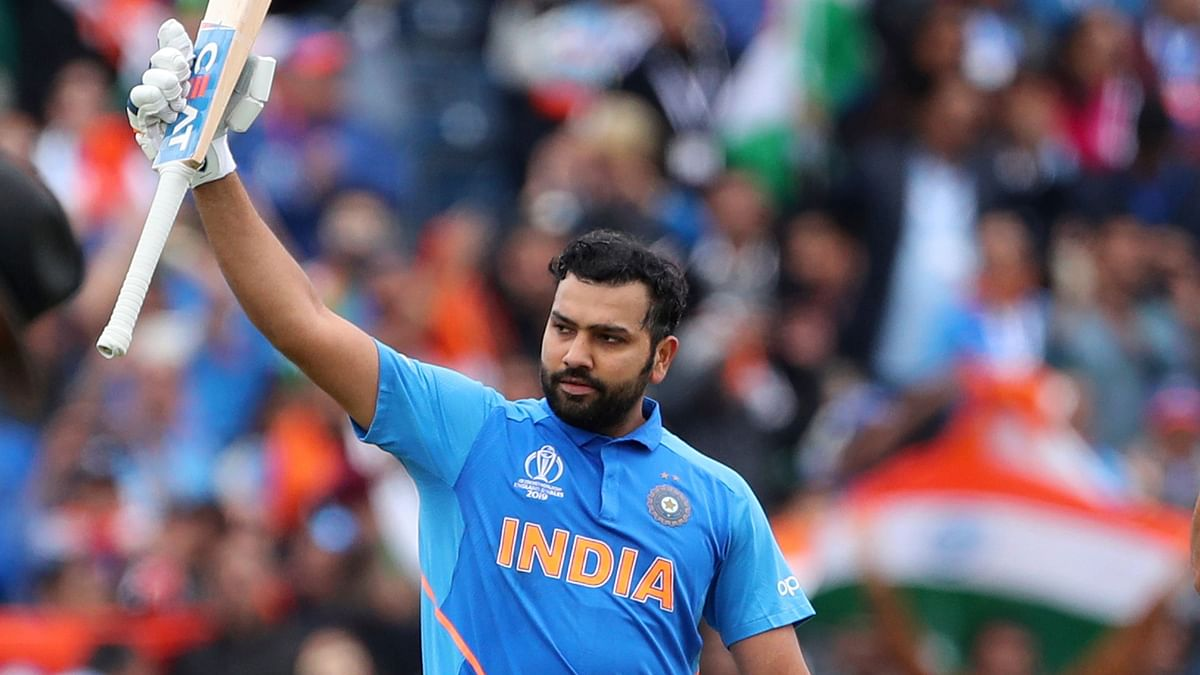 ICC World Cup: Rohit Sharma Smashes 85-Ball Century vs Pakistan