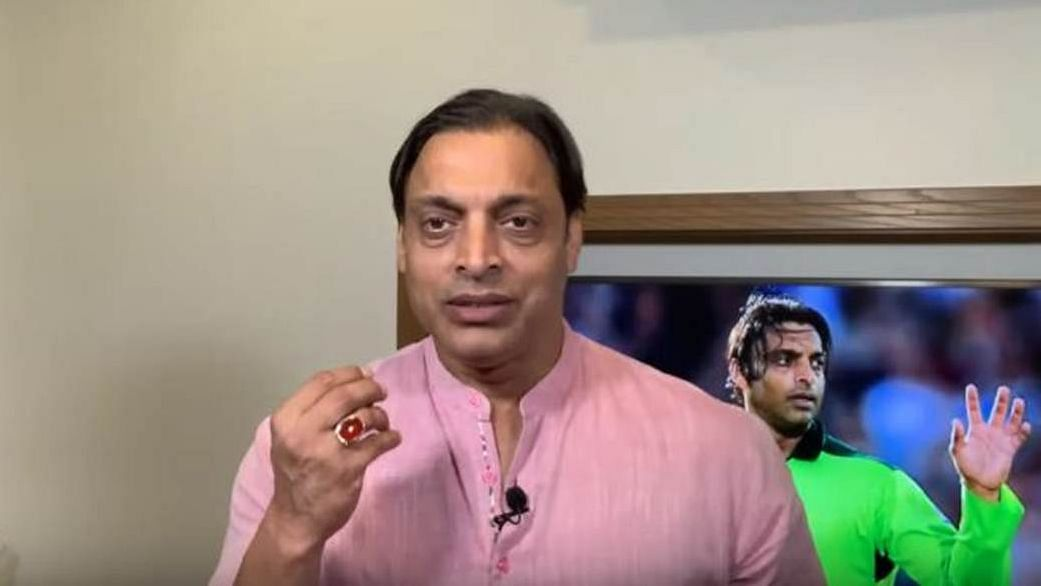 Akhtar criticized the MS Dhoni's slow innings Afghanistan.