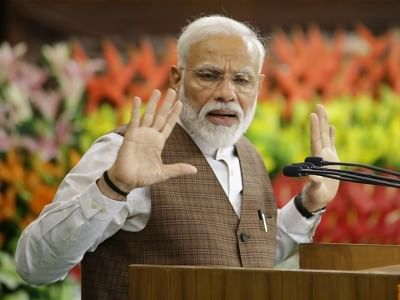 Modi slams Congress for garbling Chandra Shekhar's padyatra