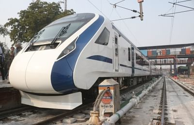 Riding high on the success of the Vande Bharat Express currently plying on the New Delhi-Varanasi route, the Indian Railways is planning another set of trains between the national capital and Katra for pilgrims travelling to the Vaishno Devi shrine. (Photo: IANS)