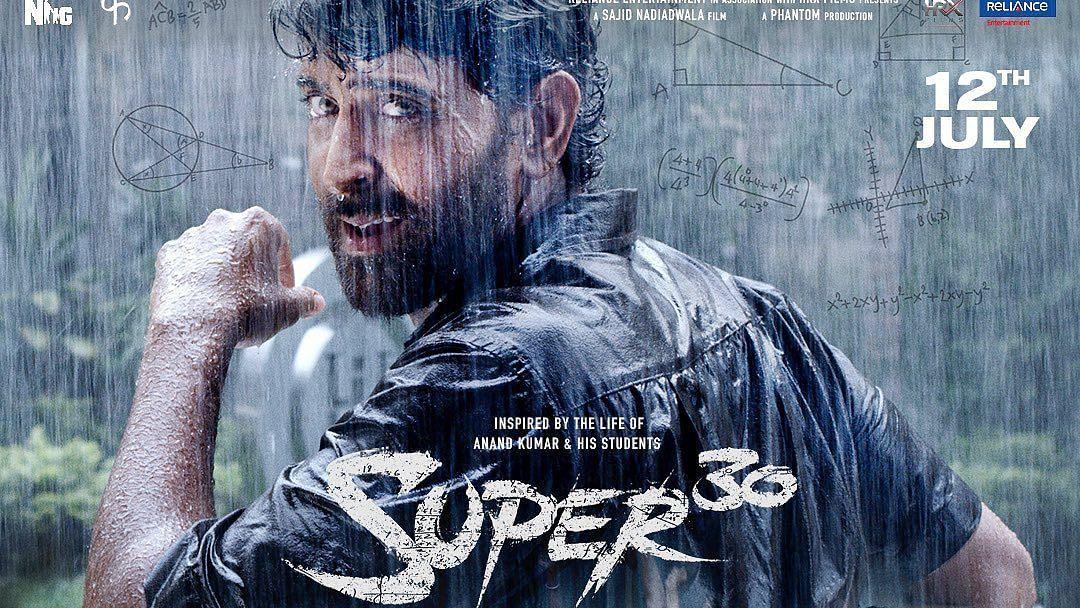 Hrithik Roshan in <i>Super 30</i>&nbsp;.