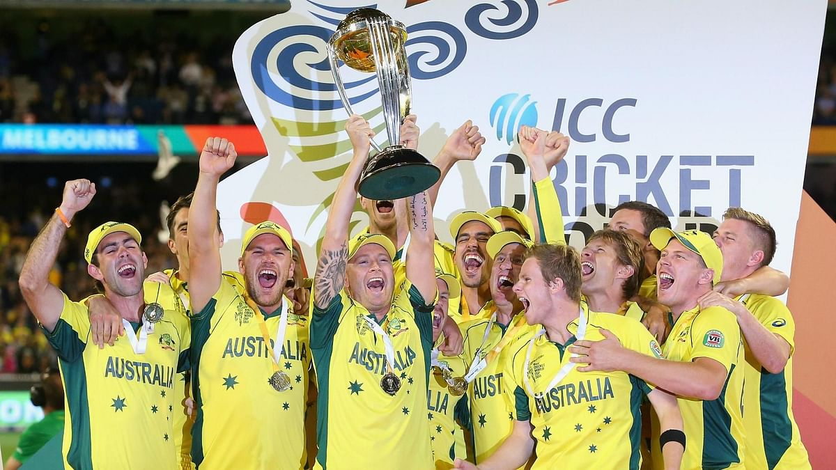 Australia won their fifth World Cup title in 2015 under Michael Clarke.