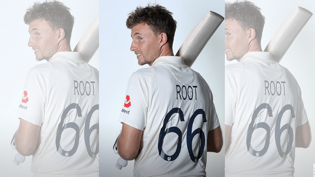 The ECB posted a picture of England skipper Joe Root in the new numbered jersey that will be worn in Test cricket.