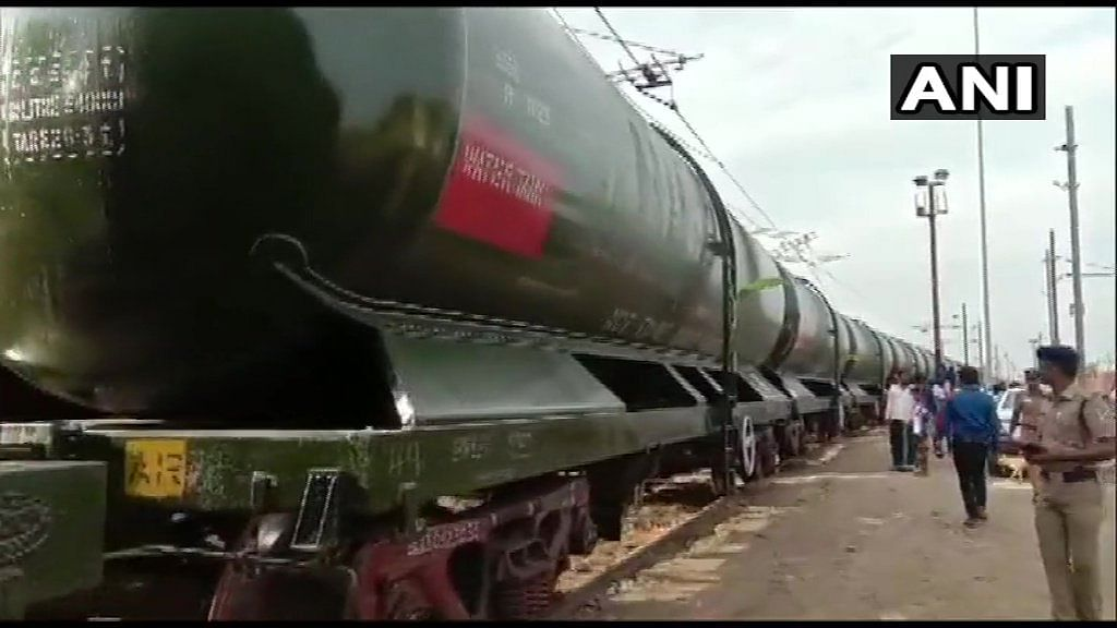 A train with 2.5 million litres of water arrived from Vellore every day when the water crisis was at its peak.