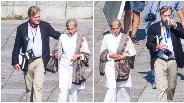 Spotted: Dimple Kapadia on the Set of Christopher Nolan's 'Tenet'
