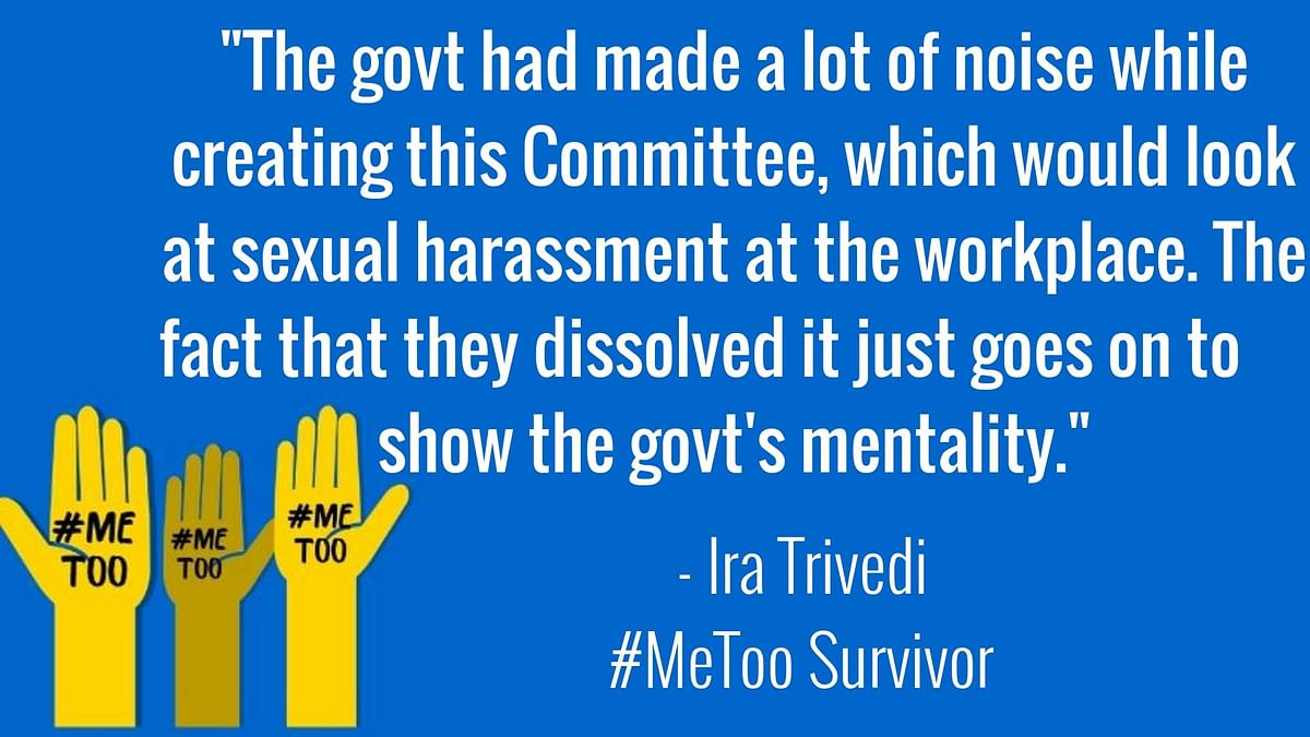 After RTI Revealed #MeToo Panel Dissolved, Govt Reconstitutes GoM