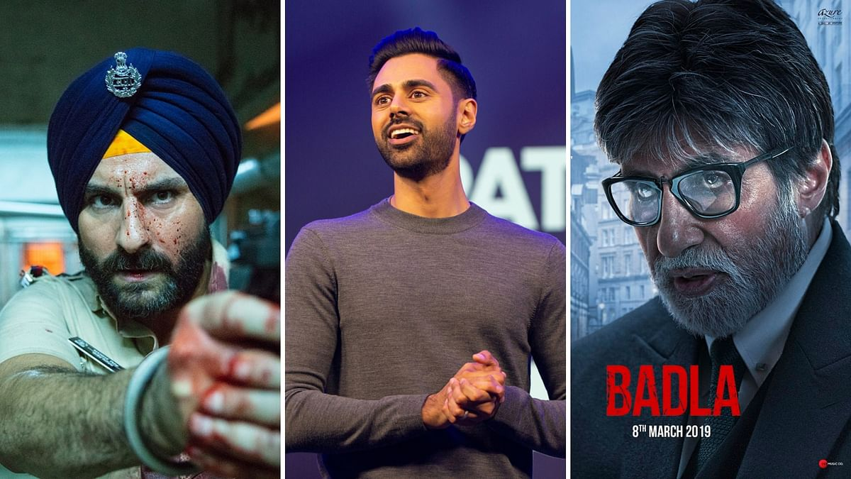 New on Netflix in August: Sacred Games, Patriot Act, Badla & More