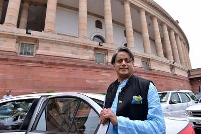 Congress MP Shashi Tharoor. (Photo: IANS)