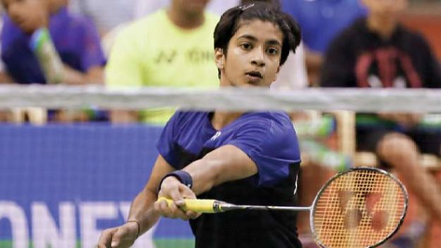 Malvika Bansod defeated top-seeded Phittayaporn Chaiwan 21-18, 21-19 in the women's singles  of the Badminton Asia Junior Championships