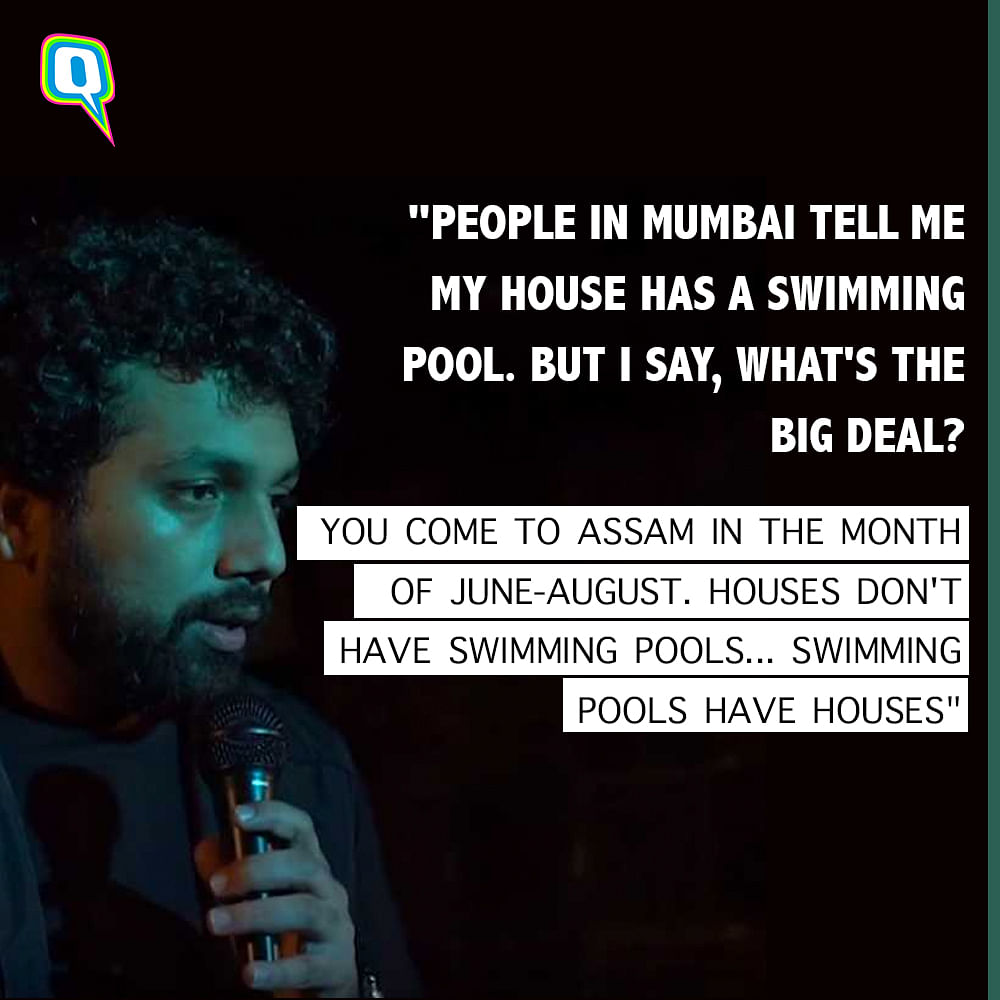 Media Wasn't Talking About Assam Floods, So This Comedian Did