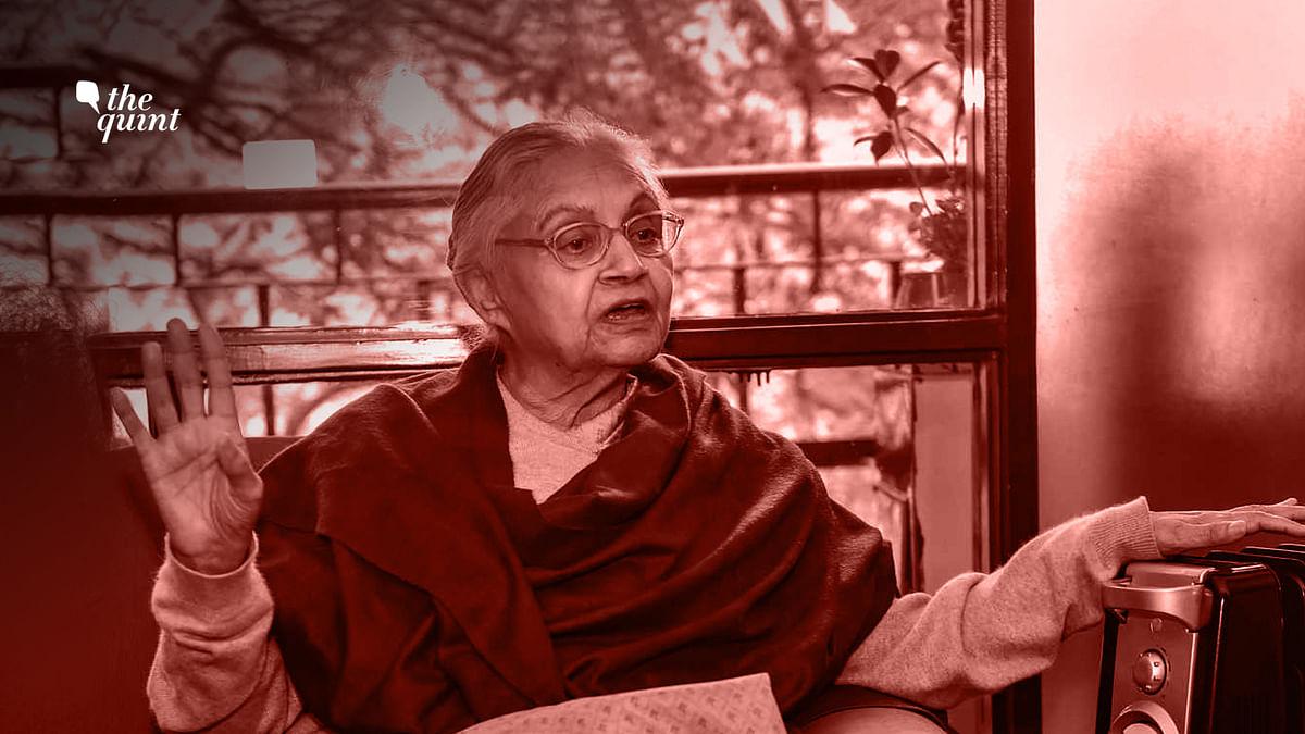 File photo of Delhi Chief Minister Sheila Dikshit.