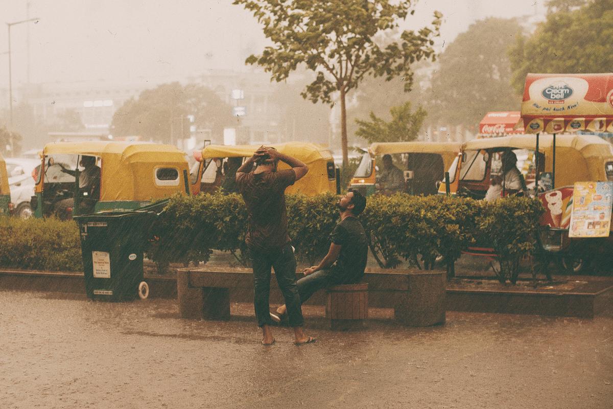 Rains have finally hit the capital.