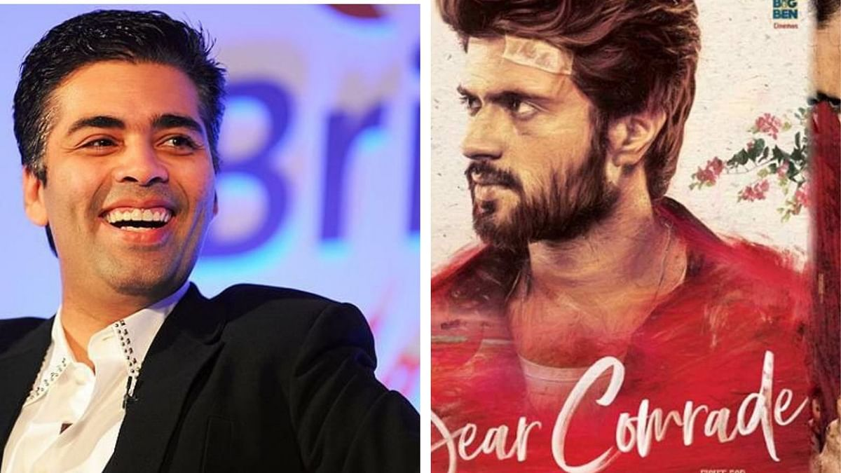Karan Johar to remake <i>Dear Comrade</i>.
