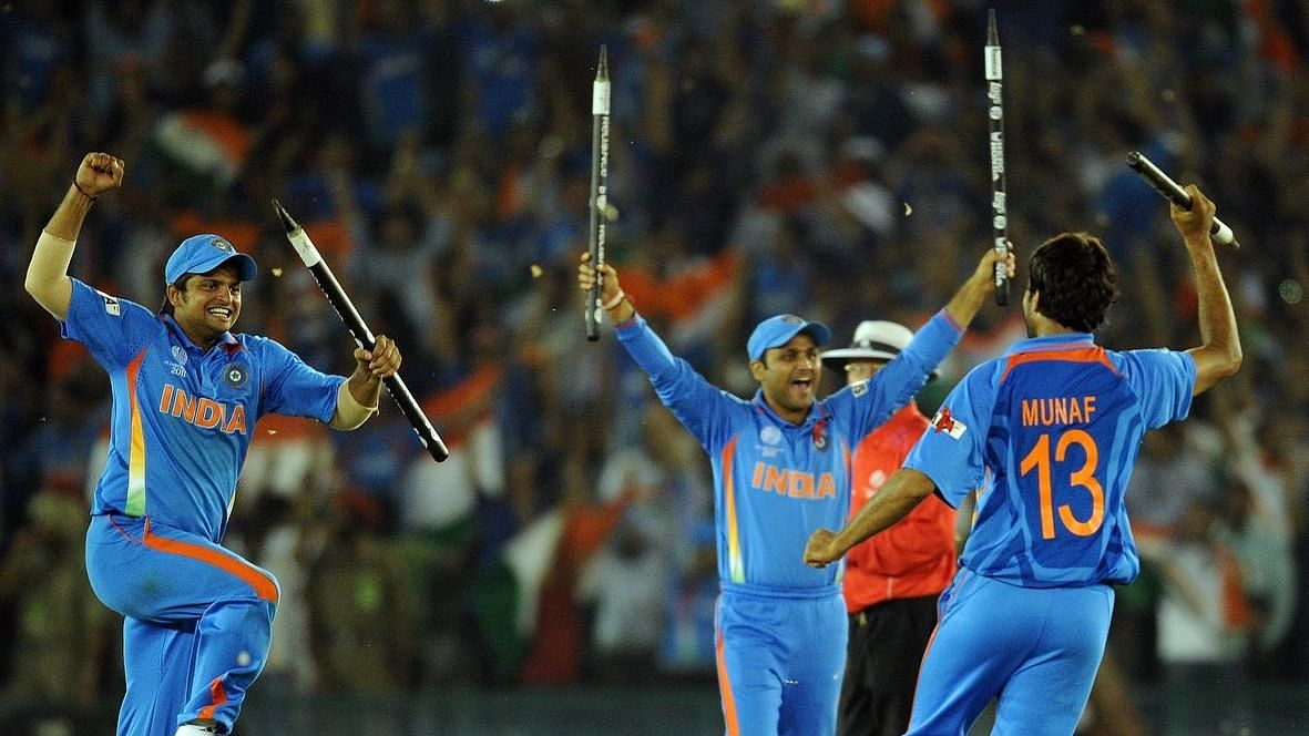 As hosts in 2011, India smiled in its third attempt when they went past Pakistan in the semis.