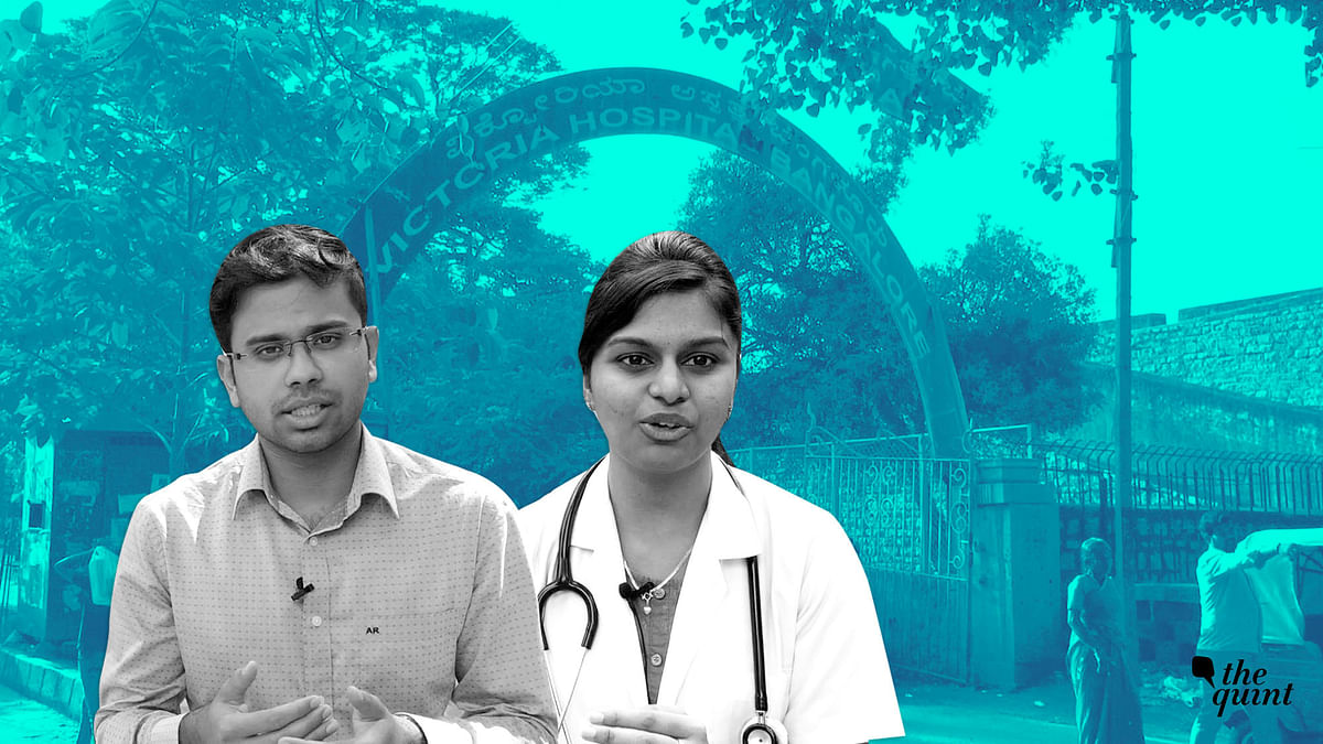 'We are not Gods': Government Doctors in Bengaluru Demand Safety