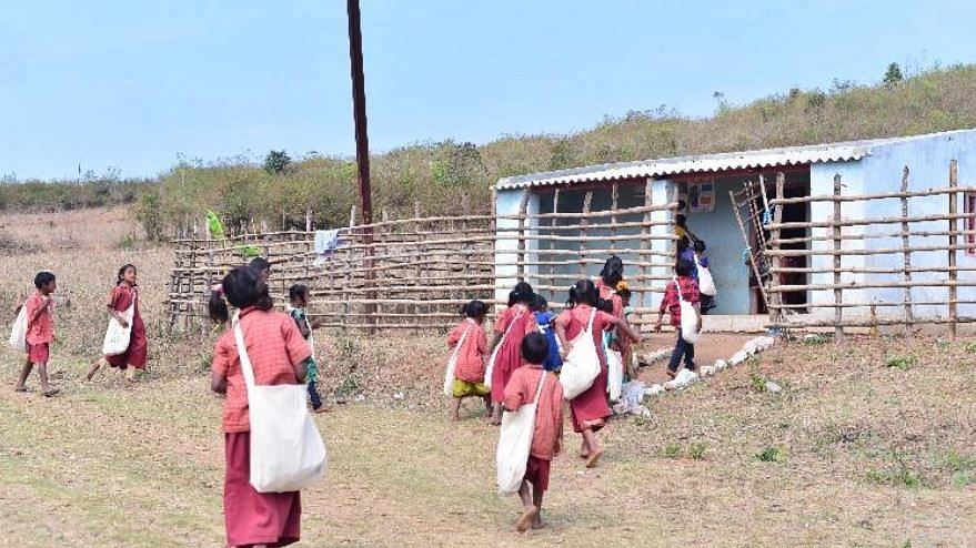 Govt Inaction Forces Andhra Tribals to Build Their Own Schools