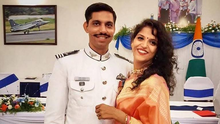 Garima Abrol, Wife of Late Squadron Leader, Now a Flying Officer