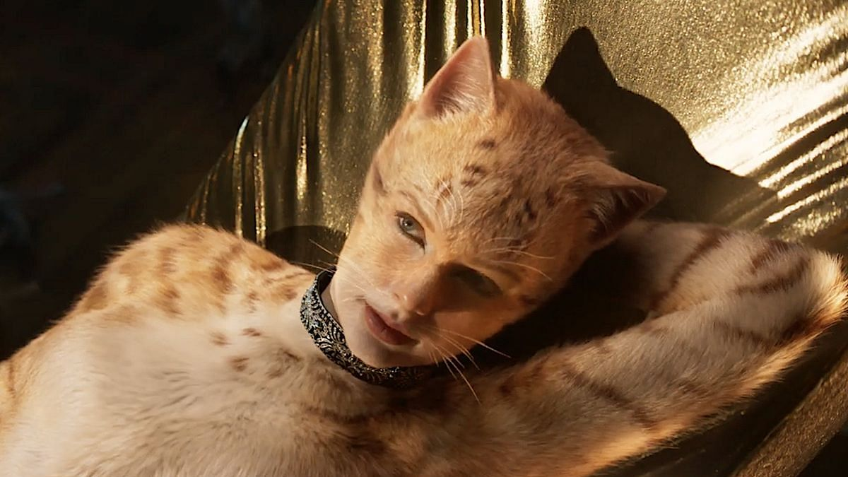 Taylor Swift in a still from Cats.