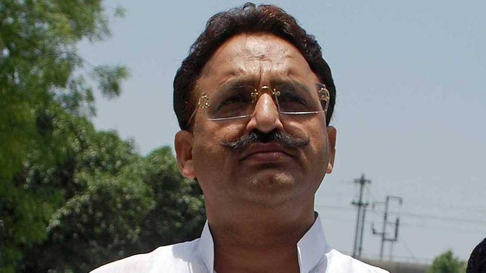 Politician Mukhtar Ansari.