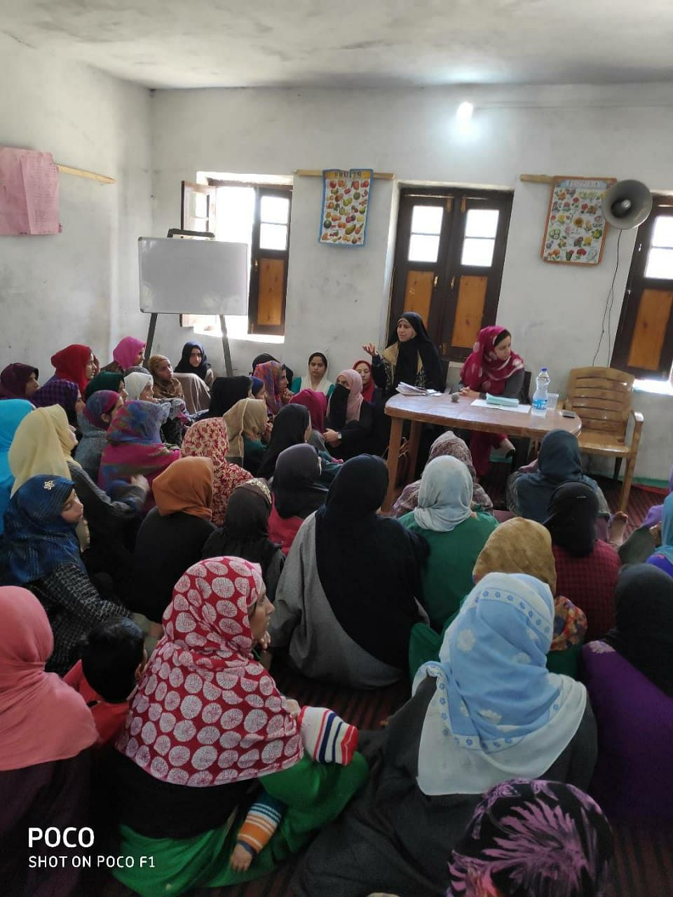 Dr Auqfeen's menstrual awareness session