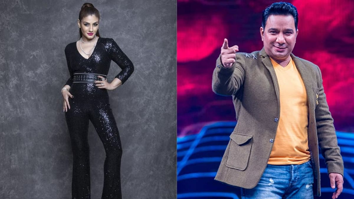 Judges for <i>Nach Baliye </i>Season 9, Raveena Tandon and Ahmed Khan.