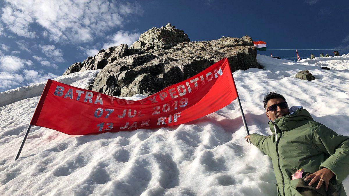 Kargil Hero Batra's Twin Pays Tribute At Recaptured Himalayan Peak