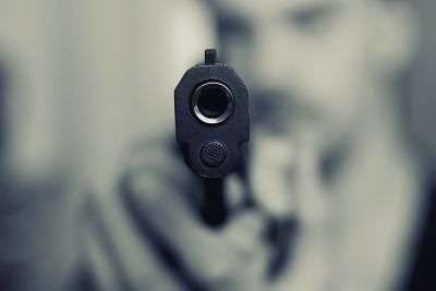 Gun point. (File Photo: IANS)