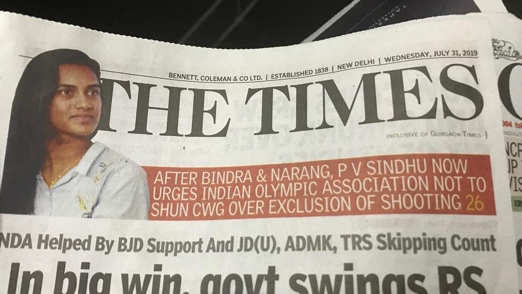 Sindhu Pulls Up Journo For Misquoting Her in CWG Shooting Row