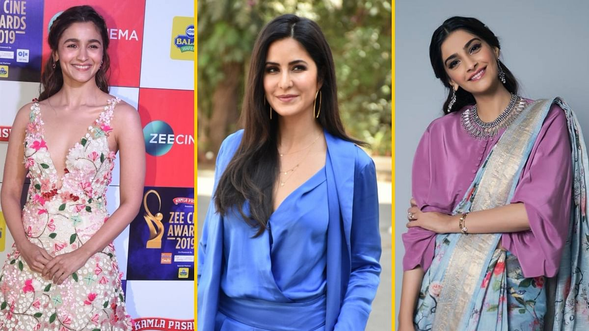Alia, Sonam & Bollywood Celebs Shower  Katrina With  B'day Wishes