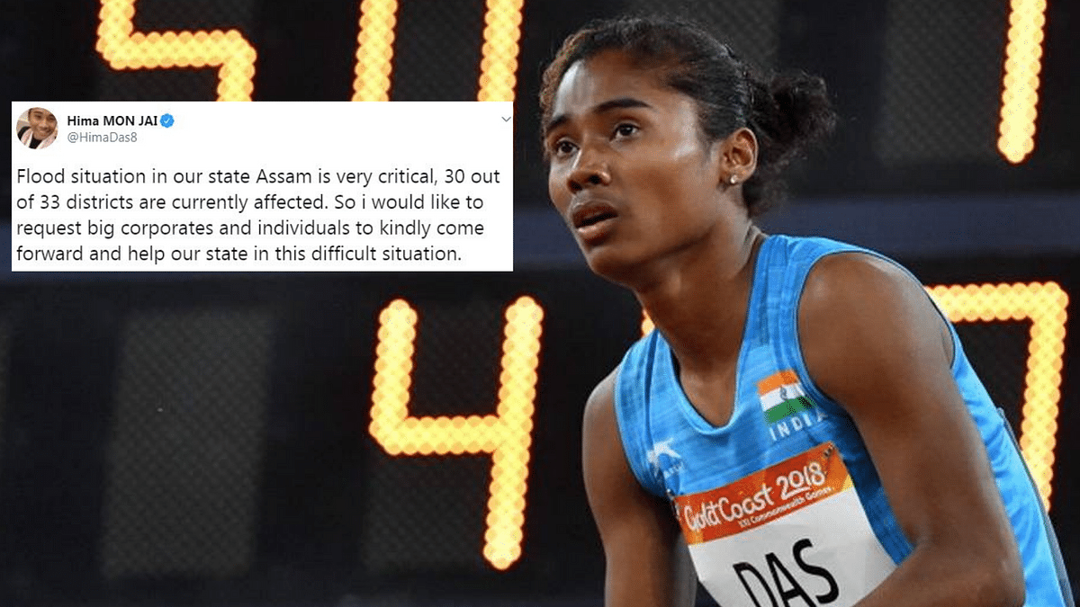 The reigning World Youth Athletic champion Hima Das hails from Dhing in Assam