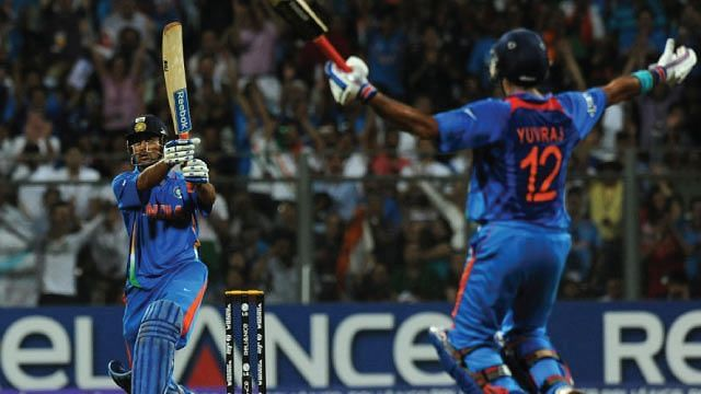 MS Dhoni helped India win the 2011 World Cup with his unbeaten knock against Sri Lanka in the final.