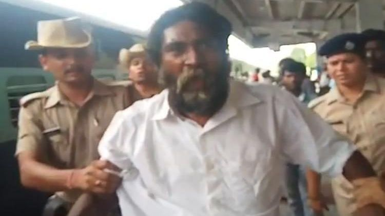 Nearly five months after Tamil Nadu-based social and environmental activist Mugilan disappeared, he has been spotted at a railway station in Andhra Pradesh.