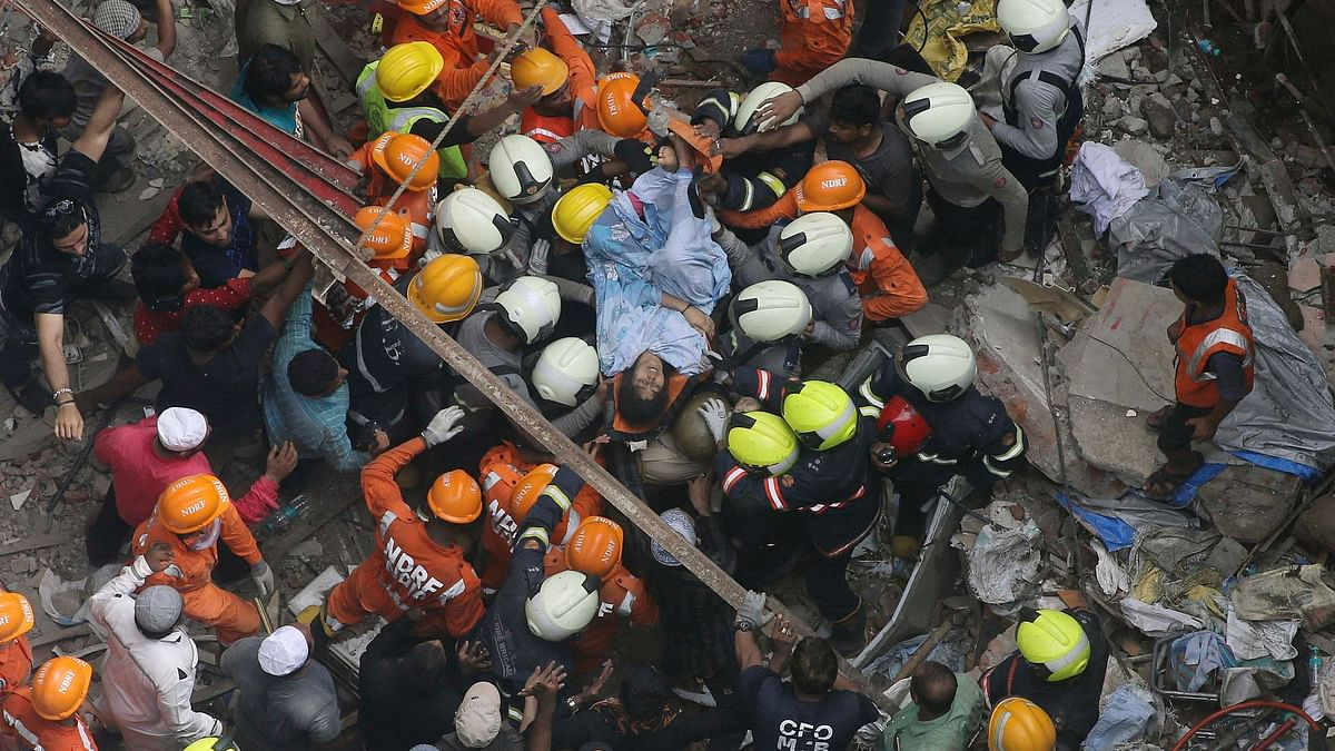 14 people, including the owner of the Kesarbai building, died after the four-storey building came crashing down in Mumbai's Dongri on Tuesday, 16 July.