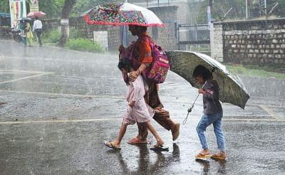 Rains aplenty in south Gujarat.