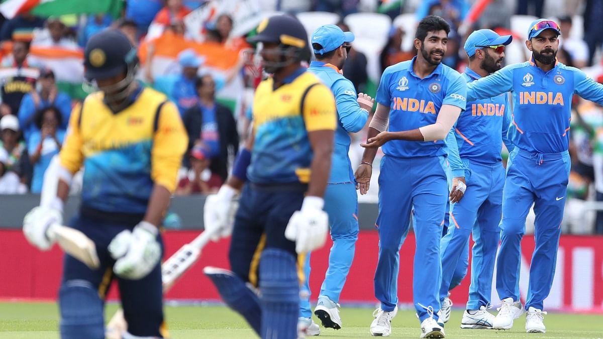 Jasprit Bumrah finished with 3/37 against Sri Lanka.