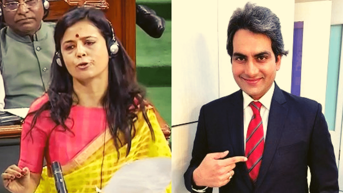 TMC MP Mahua Moitra has filed a criminal defamation case against Sudhir Chaudhary for alleging that her speech on the 'Seven Signs of Fascism' on 25 June was plagiarised.