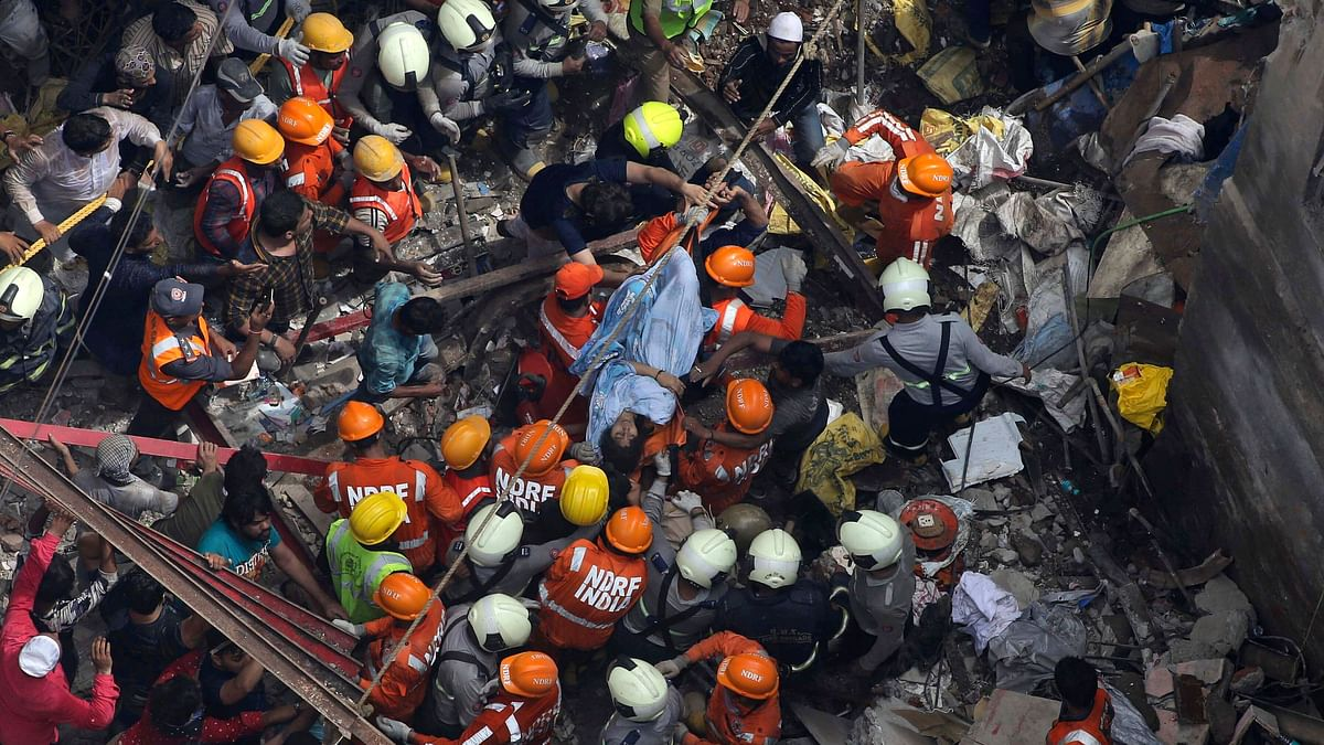 BMC Officer Suspended over Mumbai Building Collapse That Killed 13