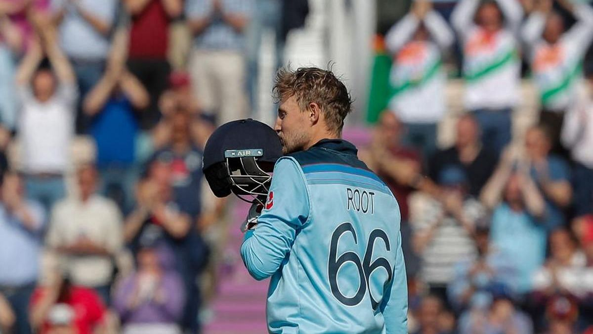 Joe Root lead the batting charts for England with 549 runs from 10 innings, with two centuries.