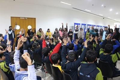Students. (Source: Photographer Sarthak Shukla)