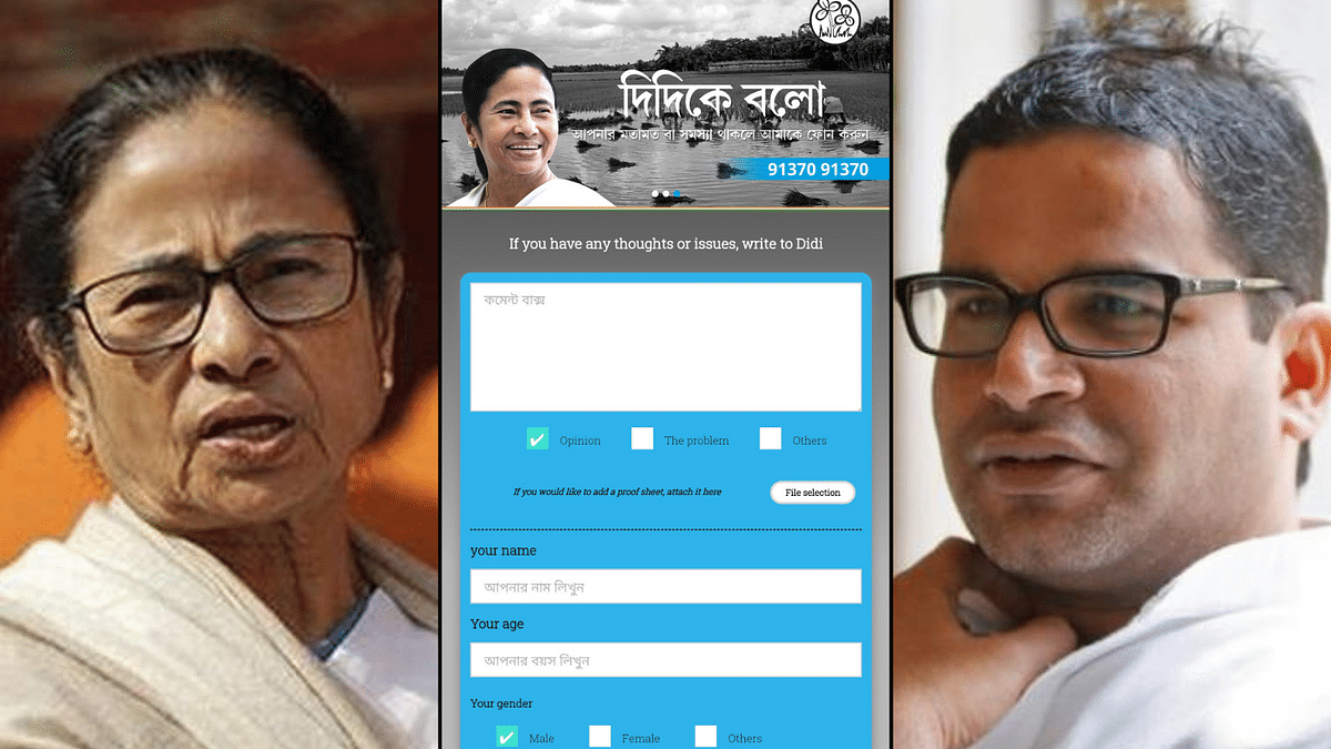 The initiative is the first major imprint of Prashant Kishor's I-PAC on Mamata's 2021 Assembly election campaign.