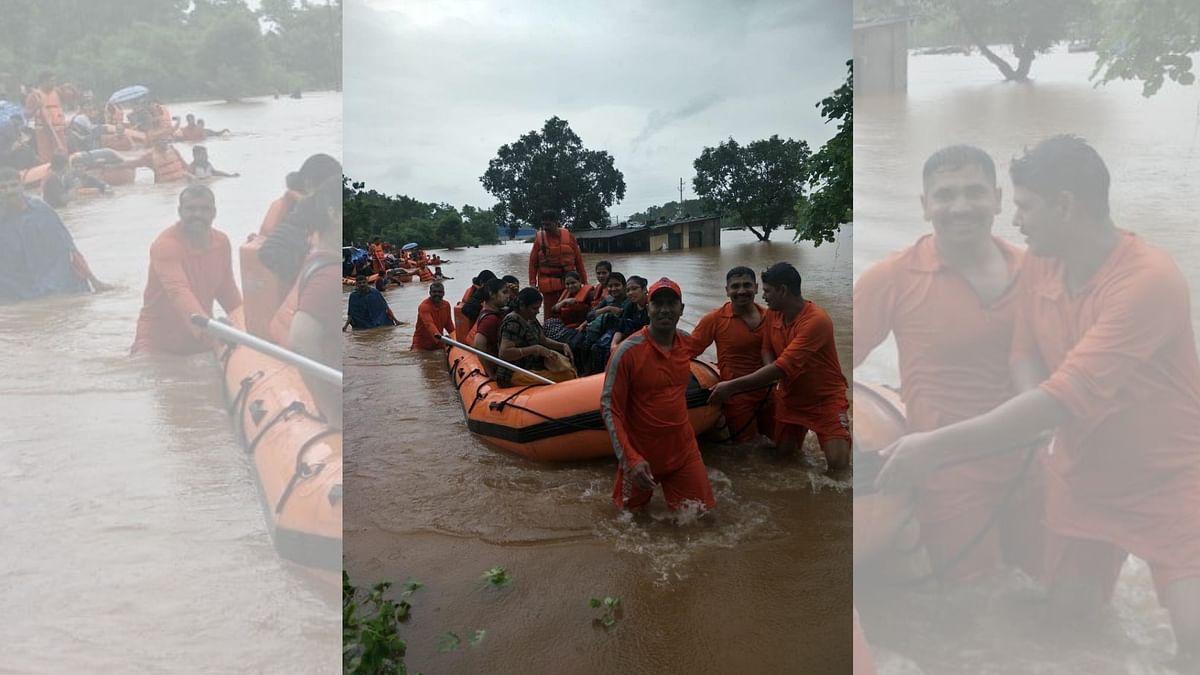 Passengers Saved From Stranded Mahalaxmi Express Leave For Mumbai