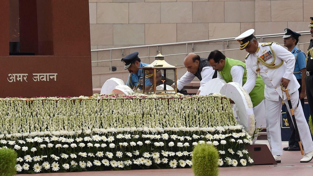 Pak Can't Fight Full-Fledged War With Us: Rajnath on Kargil Diwas