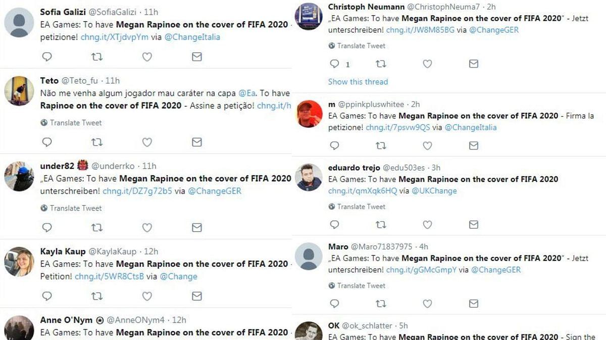 Fans on Twitter