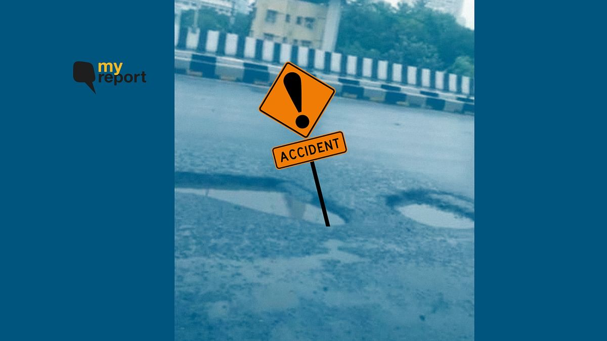 Potholes in Mumbai Nearly Cost Me My Life, Who Is to Answer?