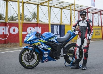 Aryan Gaurav from Pune who finished at second place in the fourth season of Red Bull Road to Rookies Cup.
