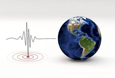 Earthquake. (Photo: IANS)