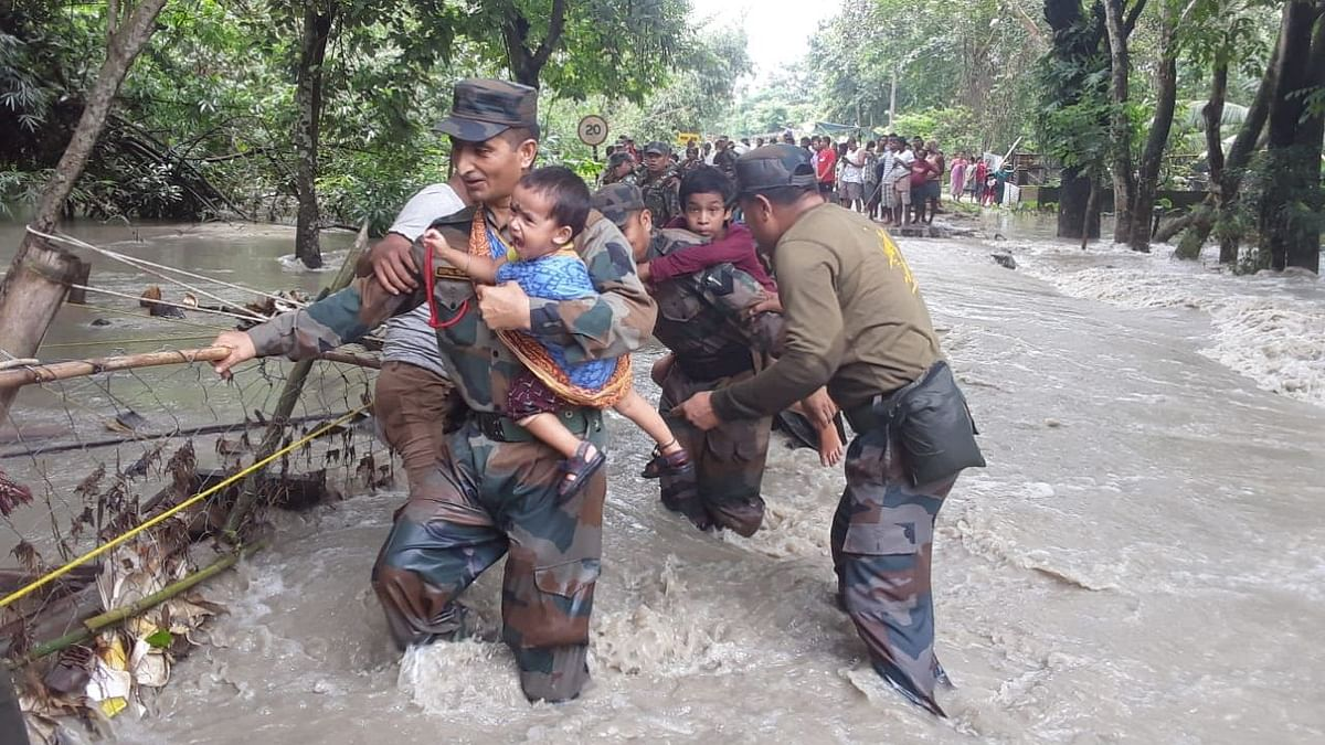 Death Toll in Assam Rises to 86; 1,348 Villages Still Deluge-Hit