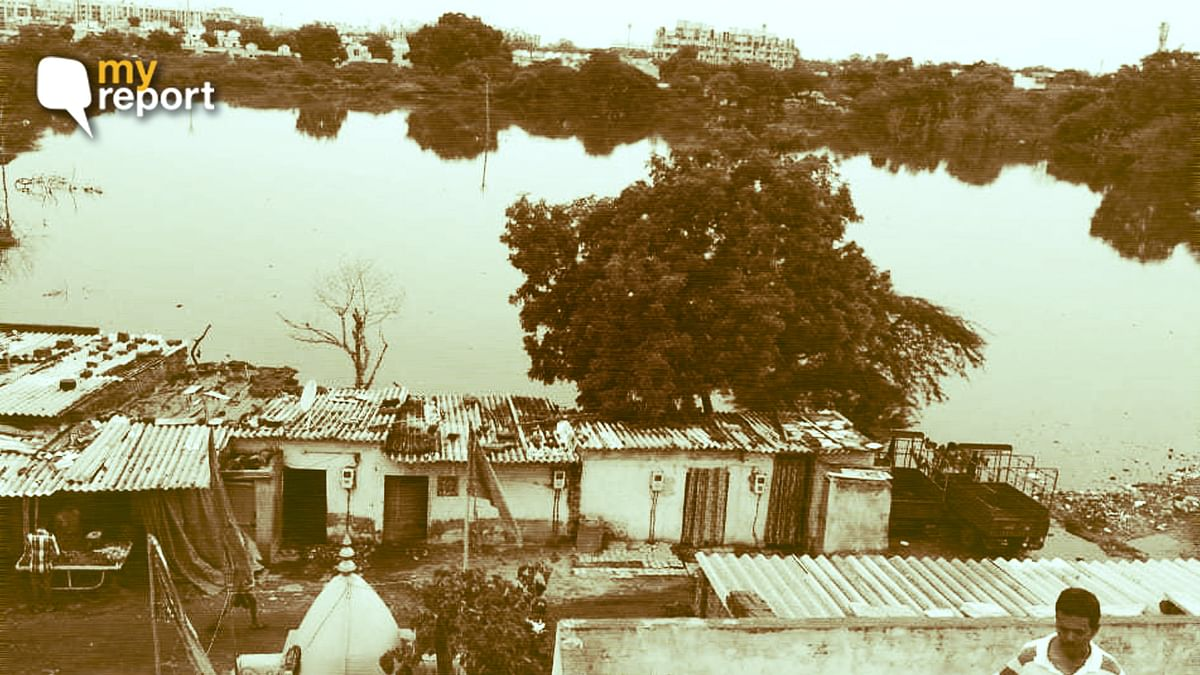 Pond in my Ahmedabad Locality is a Bane, But No One is Listening